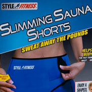 slimming sauna shorts review