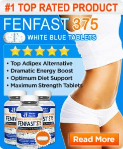 FENFAST 375 Top Rated Diet Pill 3 bottles